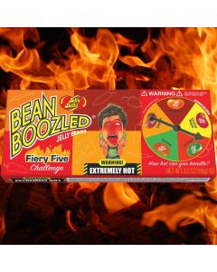 Jelly Belly Bean Boozled Flaming Five karkkipeli 100g