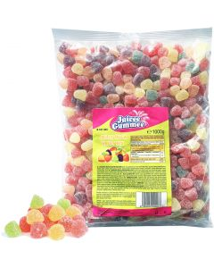 Juicee Gummee Jelly Fruit Mix hedelmätopparit 1kg