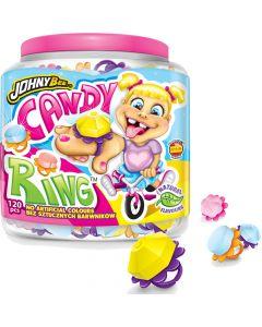 JohnyBee Candy Ring 120kpl