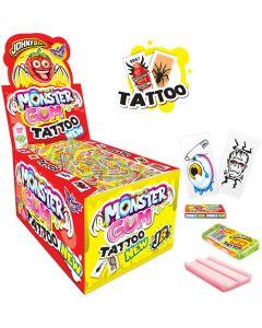 JohnyBee Monster Gum Tattoo purukumi 5g x 200kpl