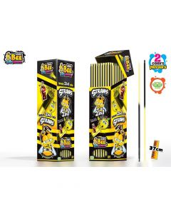 JohnyBee Straws 2in1 Lemon & Cola 7,5g x 250kpl