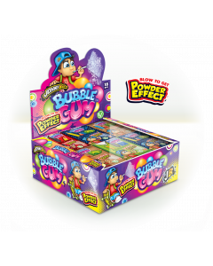 JohnyBee Bubble Gum Powder Effect 35g x 18kpl