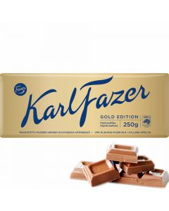 Karl Fazer Gold Edition Kultaharkko suklaalevy 250g