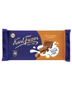 Karl Fazer Salty Toffee Crunch suklaalevy 145g