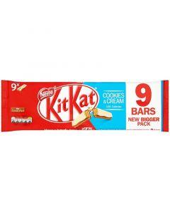 Nestle KitKat Cookies & Cream suklaavohveli 9-pack