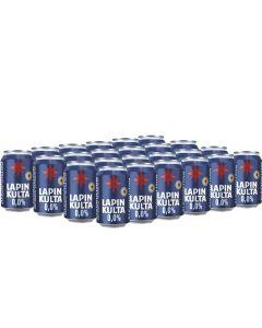 Lapin Kulta 0,0% alkoholiton olut 330ml x 24kpl