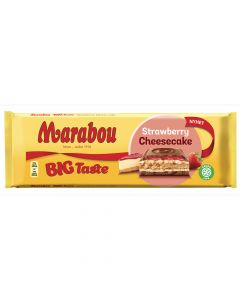 Marabou Big Taste Strawberry Cheesecake 300g