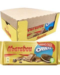 Marabou Oreo King Size suklaalevy 220g x 14kpl