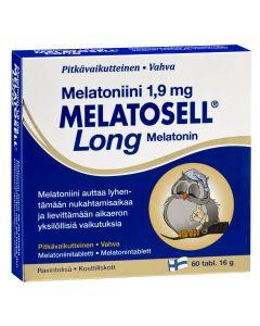 Melatosell Long Melatoniinitabletit 1,9mg