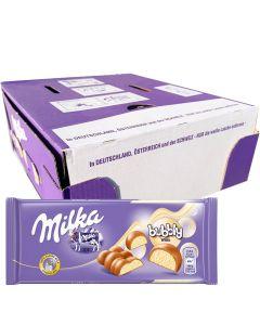 Milka Bubbly White suklaalevy 95g x 15kpl