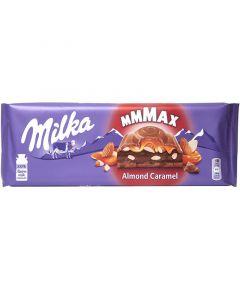 Milka MMMAX Almond Caramel suklaalevy 300g