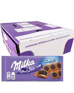 Milka Oreo Sandwich suklaalevy 92g x 15kpl