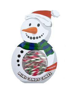 Mini Candy Canes Lumiukko 50g
