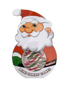 Mini Candy Canes joulupukki 50g