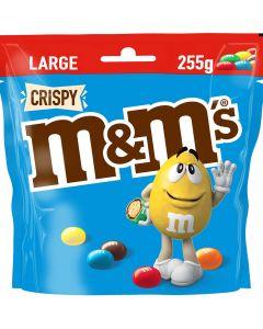M&M Crispy suklaarakeet 255g