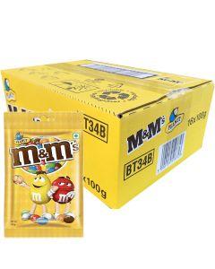M&M Peanut suklaapähkinäpussirae 100g x 16kpl