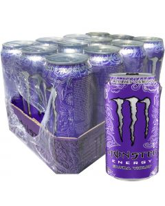 Monster Energy Ultra Violet energiajuoma 500ml x 12-pack