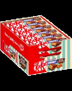 Nestle KitKat Chunky Salted Caramel Fudge 42g x 24kpl