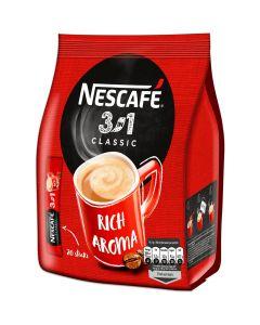 Nescafe 3in1 Classic pikakahvi annospussi 20kpl