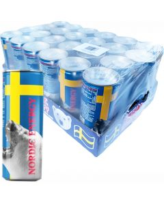 Nordic Energy Bear White energiajuoma 250ml x 24-pack