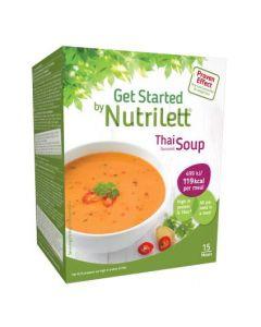 Nutrilett Thai Red Curry Soup ateriankorvikepirtelö 33g x 15 kpl