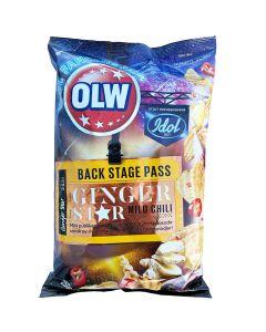 OLW Backstage Pass Ginger & Mild Chili perunalastu 250g