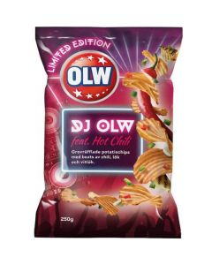 OLW DJ OLW feat. Hot Chili perunalastu 250g