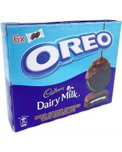 Oreo Cadbury suklaakuorrutekeksi 204g