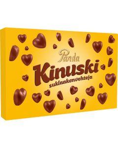 Panda Kinuskisydän suklaakonvehteja 125g