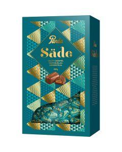 Panda Säde Salty-caramel maitosuklaakonvehteja 280g