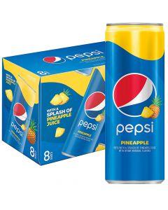 Pepsi Pineapple virvoitusjuoma 355ml x 8kpl