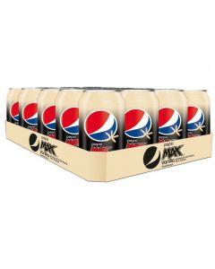 Pepsi Max Vanilla virvoitusjuoma 330ml x 24kpl