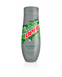 Sodastream virvoitusjuomatiiviste Mountain Dew no sugar 440ml