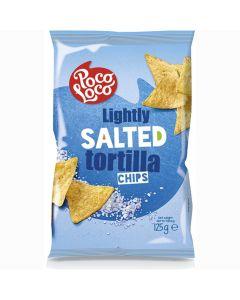 Poco Loco salted tortilla chips suolattu maissilastu 125g