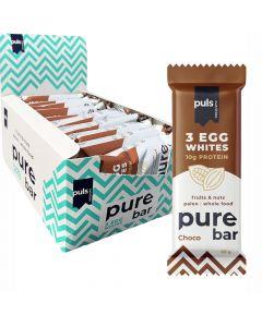 Puls Pure Bar Suklaa munanvalkuais-proteiinipatukka 50g x 20kpl