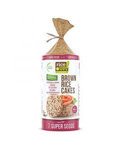 Rice UP 7 Super Seeds täysjyväriisikakku 120g