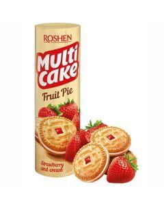 Roshen Multi Cake Fruit Pie Mansikka täytekeksi 180g