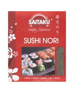 Saitaku Sushi Nori Merilevä 14g