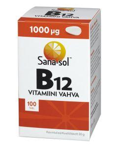 Sana-sol B12 vahva 100 tabl.
