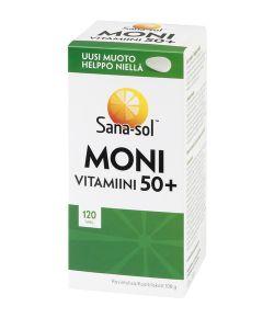 Sana-sol Monivitamiini 50+ 120 tabl.