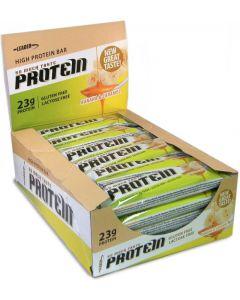 Leader Protein So Much Taste! Banaani-karamelli proteiinipatukat 61g x 24kpl