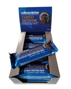 Star Nutrition Choco Brownie proteiinipatukka 12 x 55g