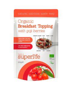 Superlife Organic with Goji Berries luomuaamiaissekoitus 200g