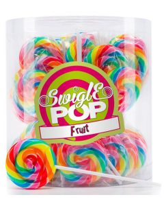 Swigle Pop Fruit tikkarit 12g x 50kpl