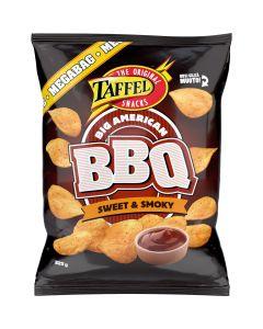 Taffel Big American BBQ Sweet & Smoky perunalastu 325g