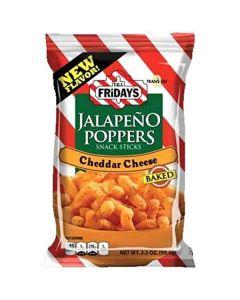 TGI Jalapeno Poppers Cheddar Cheese maissisnacks 99,2g