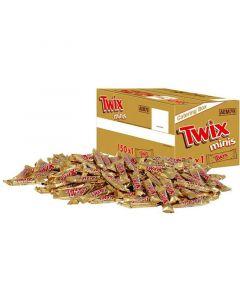 Twix Minis suklaapatukka 20g x 150kpl