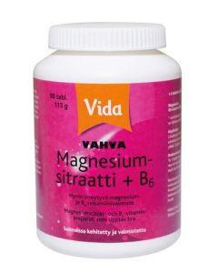Leader Vida Vahva Magnesiumsitraatti + B6 (90 tabl)