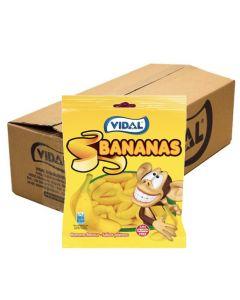 Vidal Bananas Vaahtobanaanit 50g x 16pss