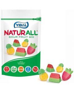 Vidal Naturall Sour Fruit Mix hedelmäkarkit 180g